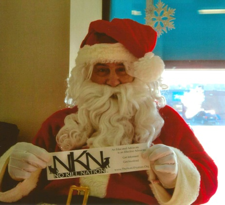 Santa says, PLEASE STOP THE KILLING AT LCHS!